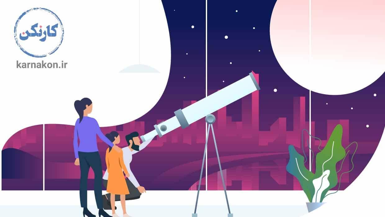رصد ستارگان از راههای افزایش هوش هستی گرا است.