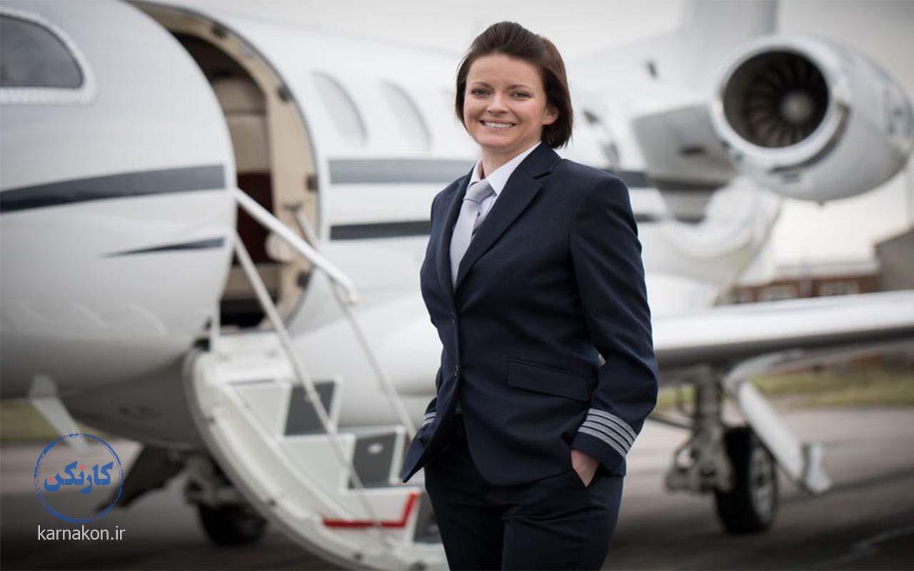 حقوق خلبان زن در ایران