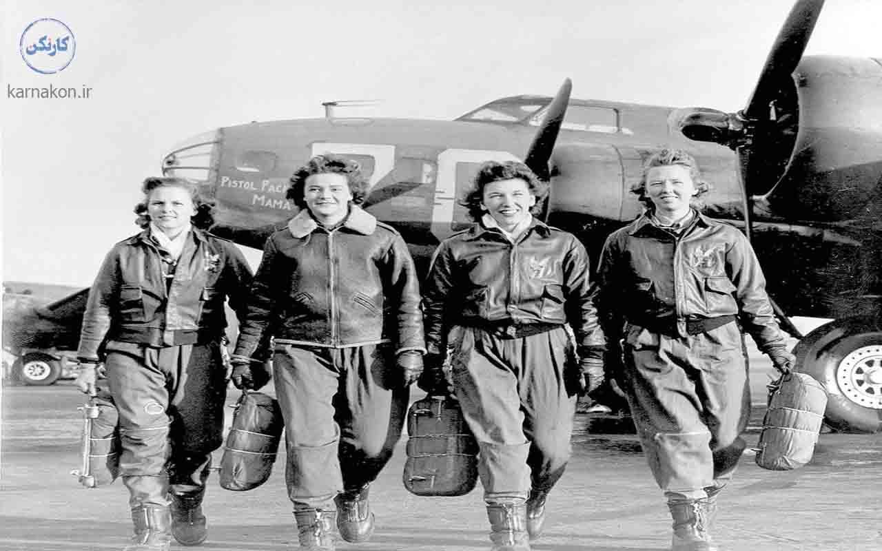رشته خلبانی برای خانم ها