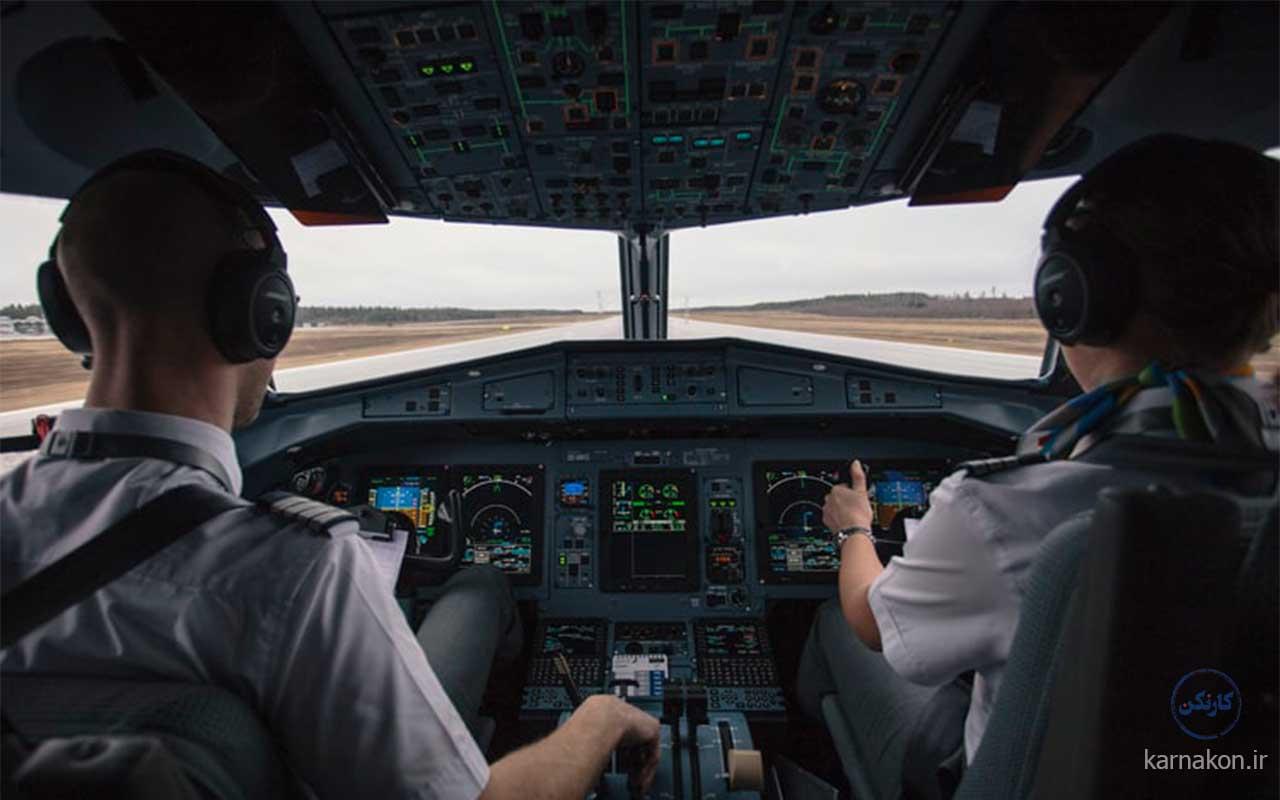 حقوق خلبانان مسافربری ایرانی