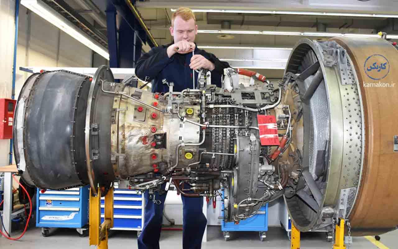 شغل تعمیرات هواپیما
