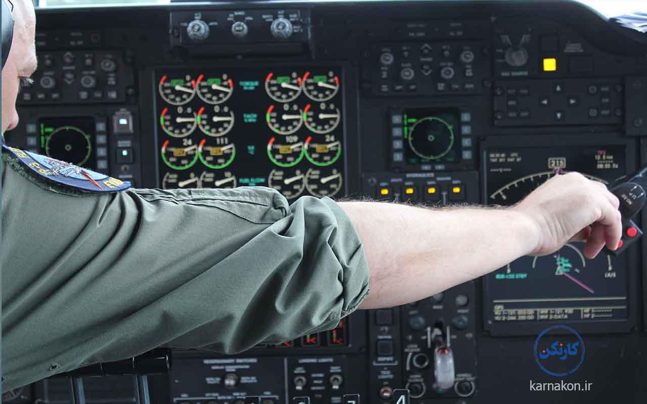 رتبه قبولی برای رشته خلبانی