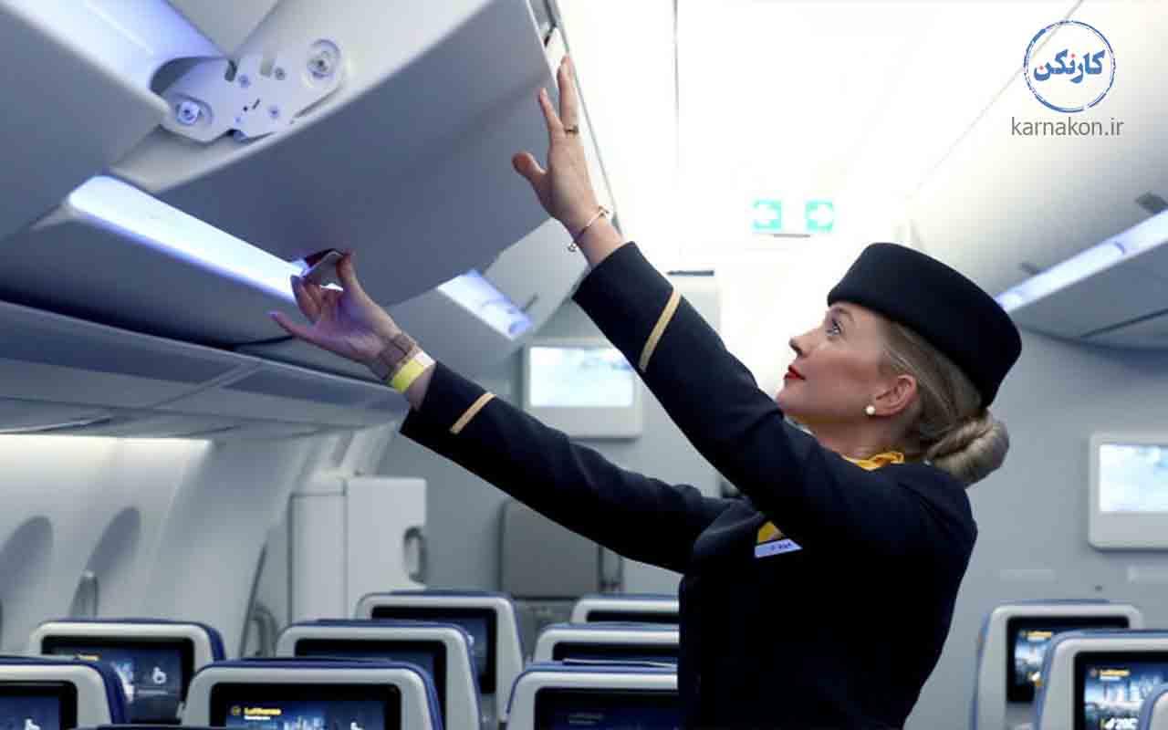 شغل مهمانداری هواپیما در ایران