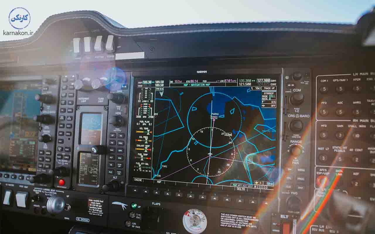 درامد مهندس الکترونیک هواپیما