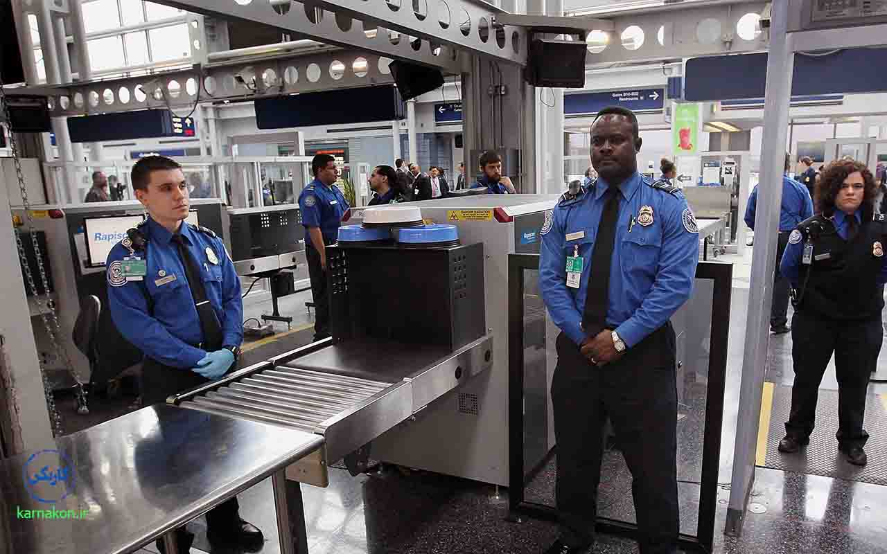 درامد امنیت پرواز