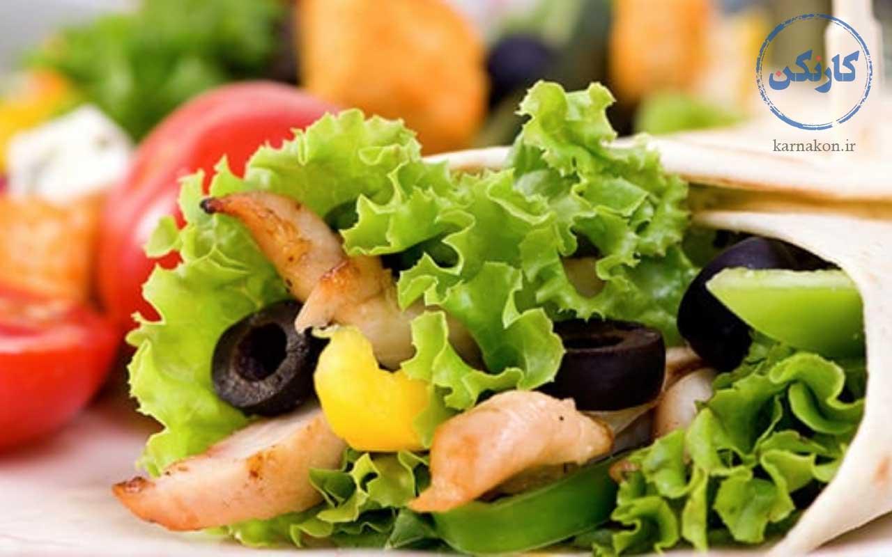 غذای سالم - فستفود سالم - شغل جدید در جهان
