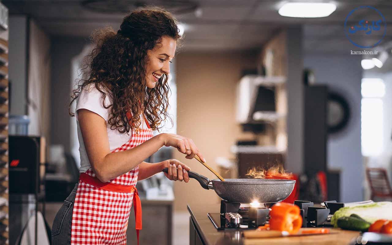 آشپزی - کارهای هنری دخترانه اسان
