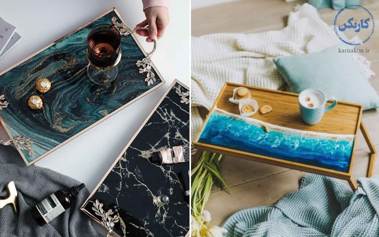 وسایل رزینی - کار هنری دخترانه در خانه