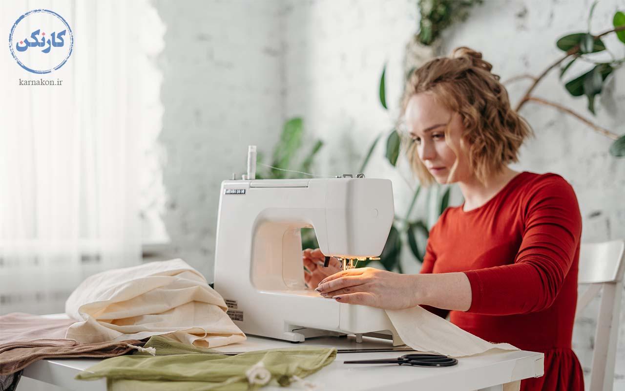 خیاطی - شغل پردرآمد با سرمایه کم برای خانمها
