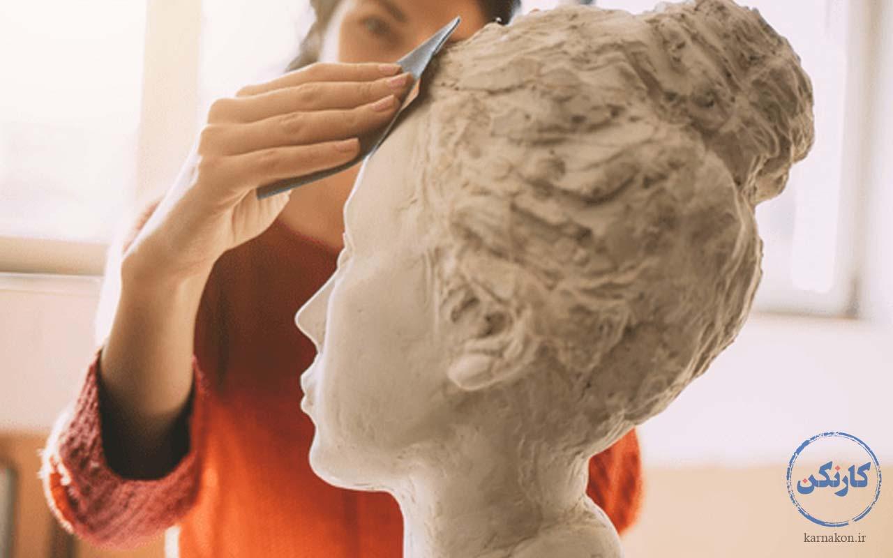 مجسمه سازی - شغل پردرآمد با سرمایه کم برای خانمها