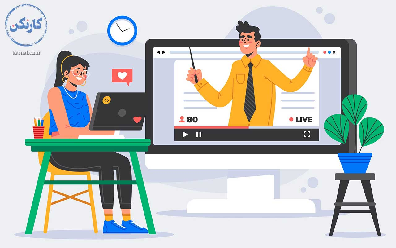 از شغل های جدید در دنیا میتوان به تدریس آنلاین اشاره کرد