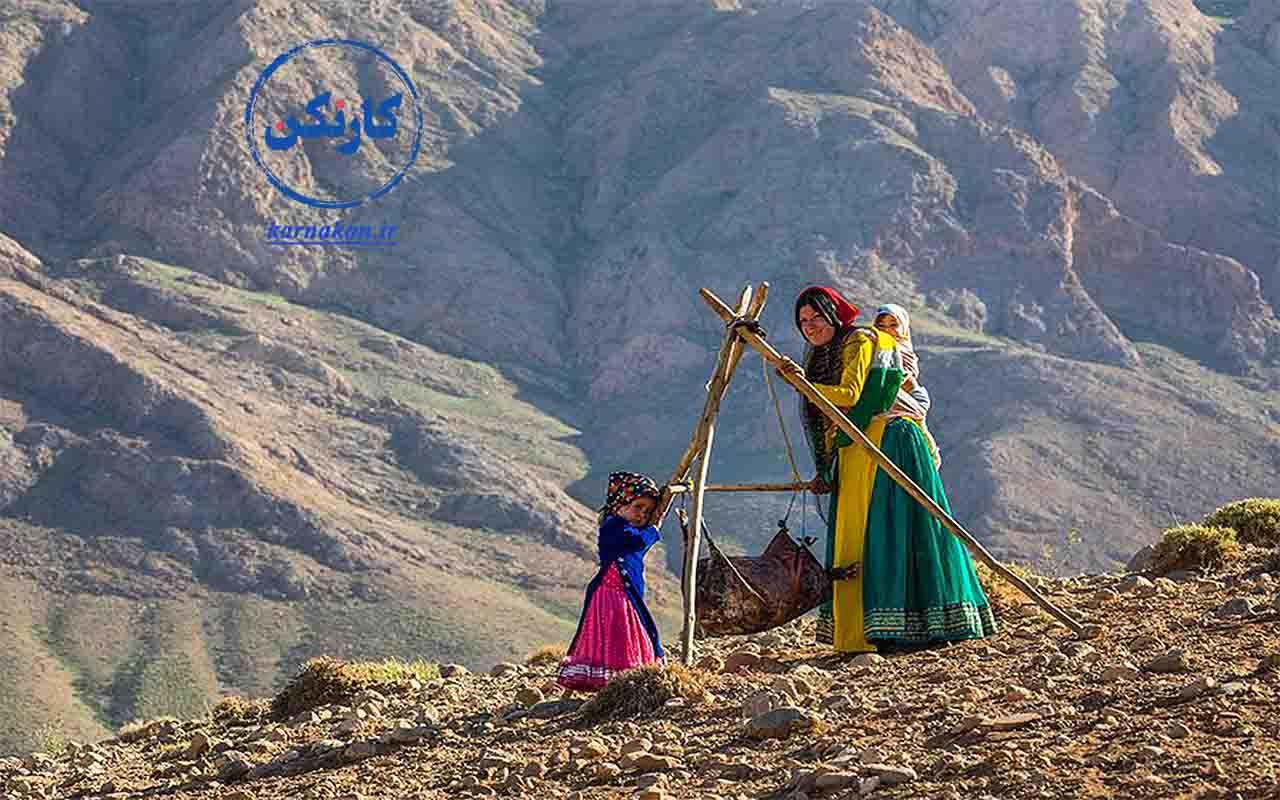مشاغل زنان روستایی و عشایری ایران - عکاس: جواد قارایی