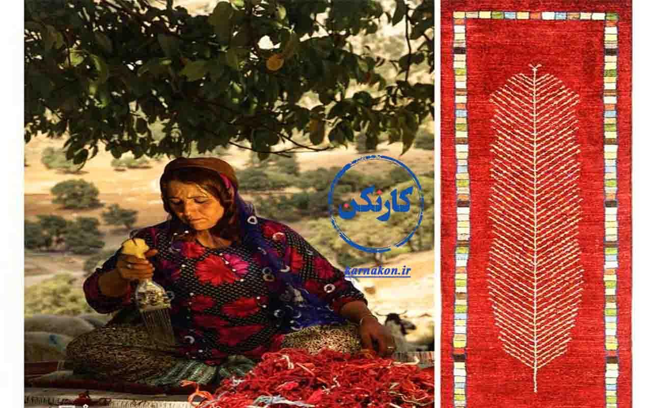 بافت فرشهای خاص و خوشبافت عشایری، از مشاغل زنان روستایی و عشایر ایران