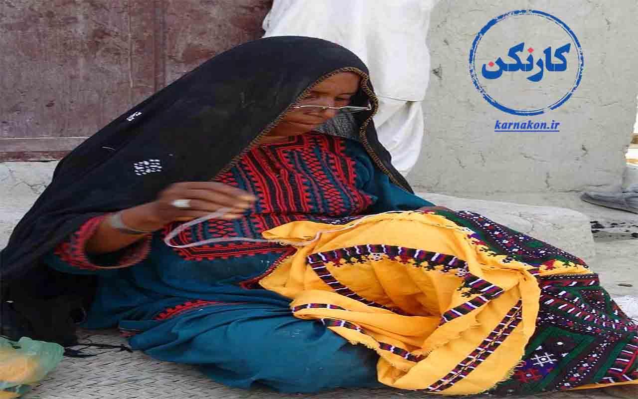 مشاغل زنان روستایی - صنایع دستی از مهمترین فرصتهای موجود جهت اشتغال زنان روستایی