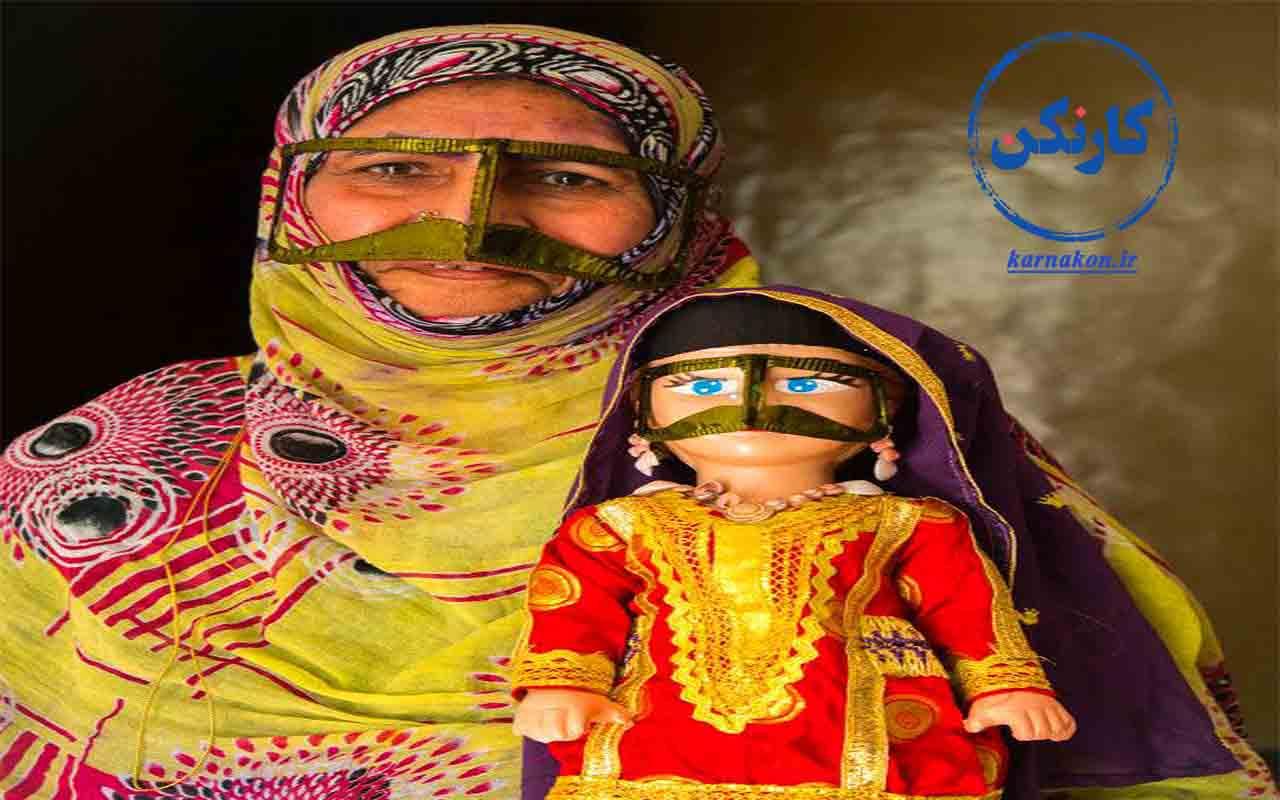 مشاغل زنان روستایی - احیا و ساخت مجدد عروسکهای بومی مناطق مختلف ایران