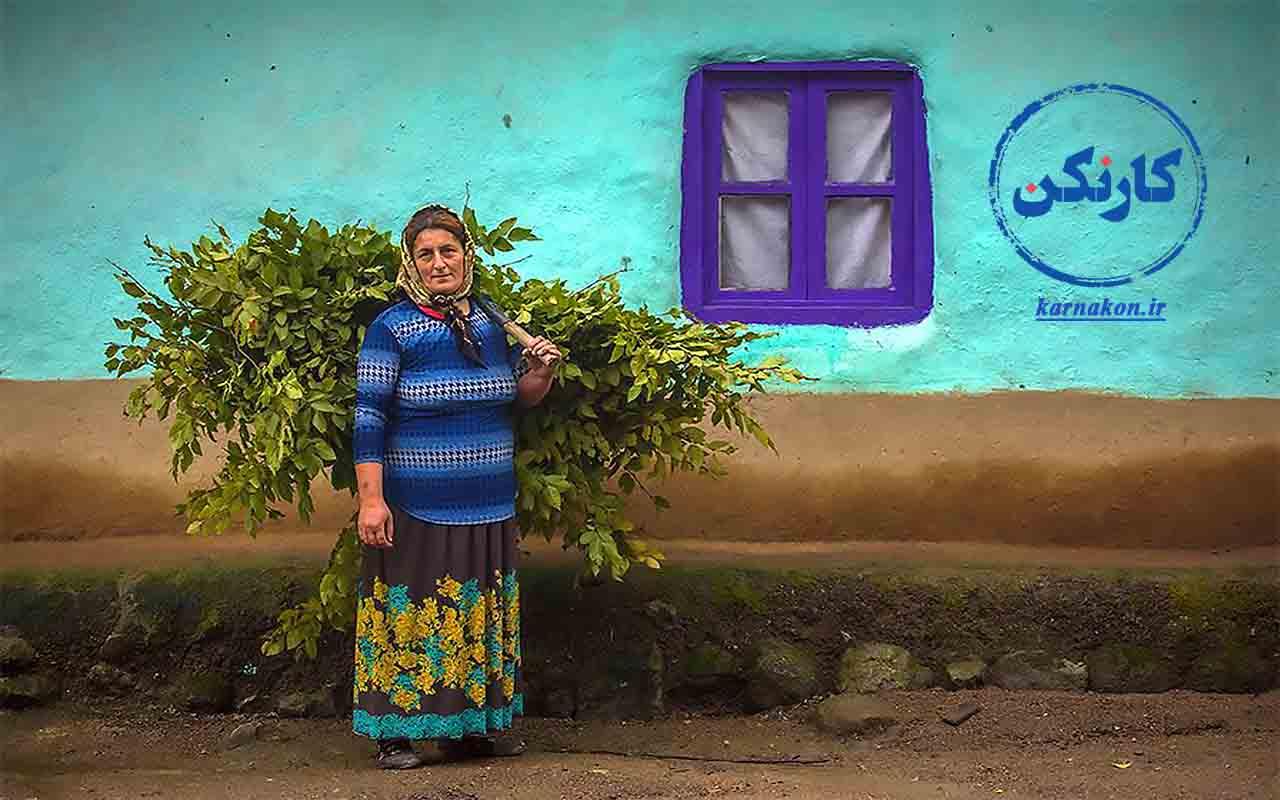 مشاغل زنان روستایی در ایران - عکاس: جواد قارایی