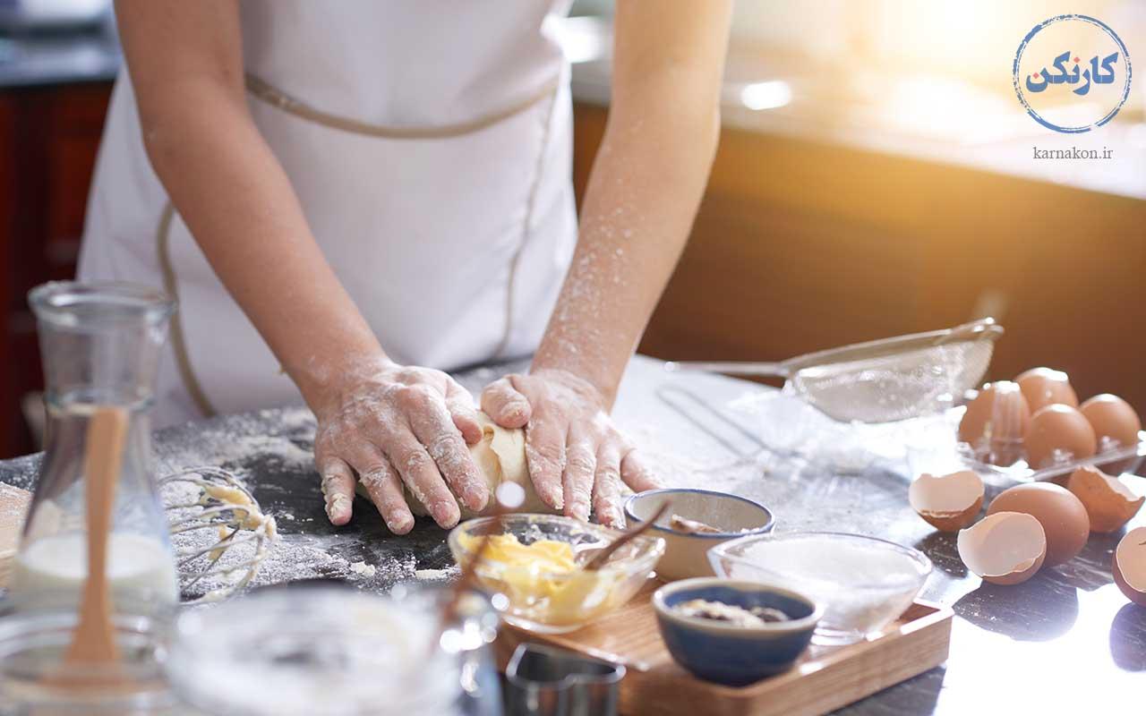 آشپزی - شغل مناسب با سرمایه کم برای خانمها