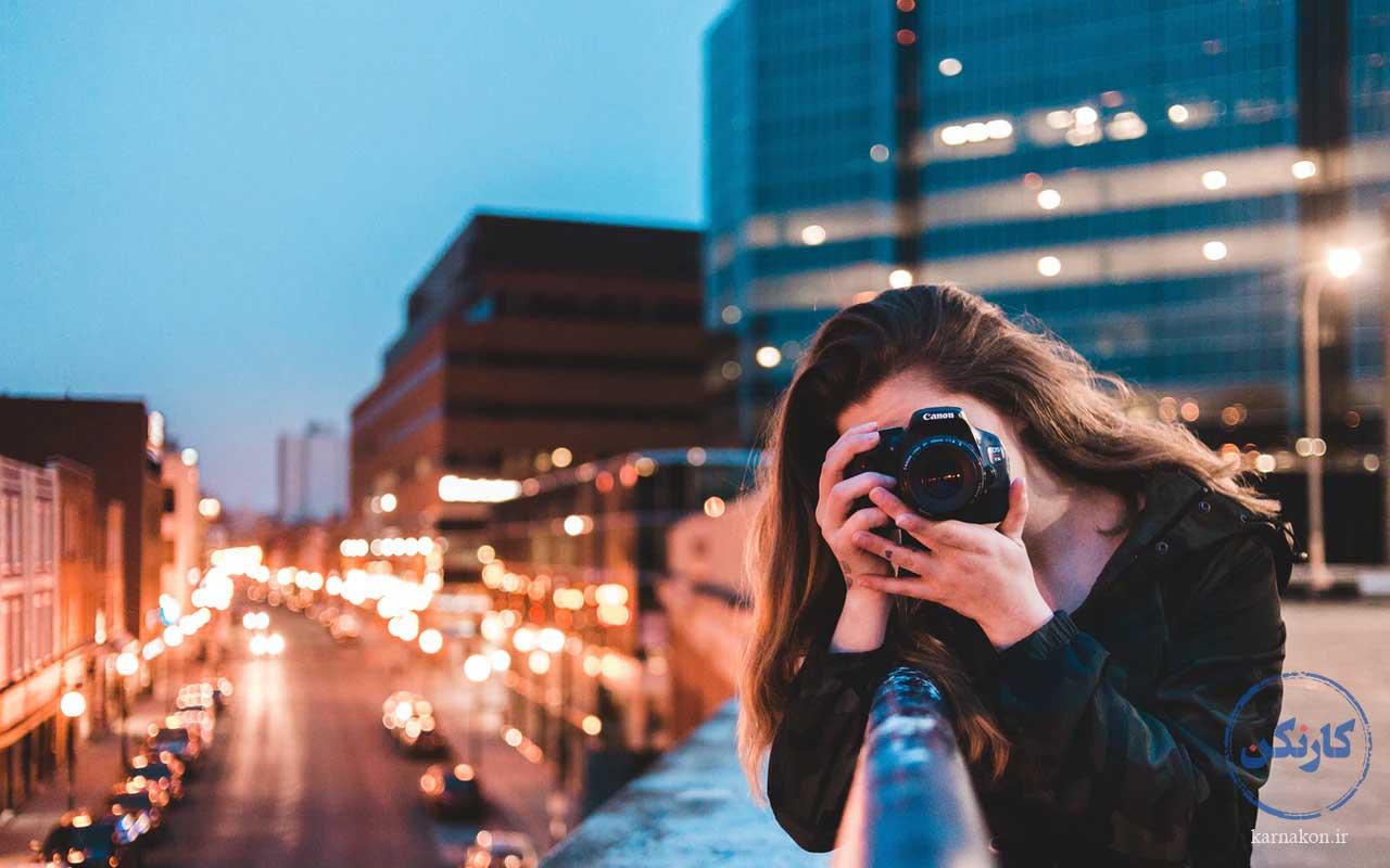 عکاسی - شغل پردرآمد با سرمایه کم برای خانمها