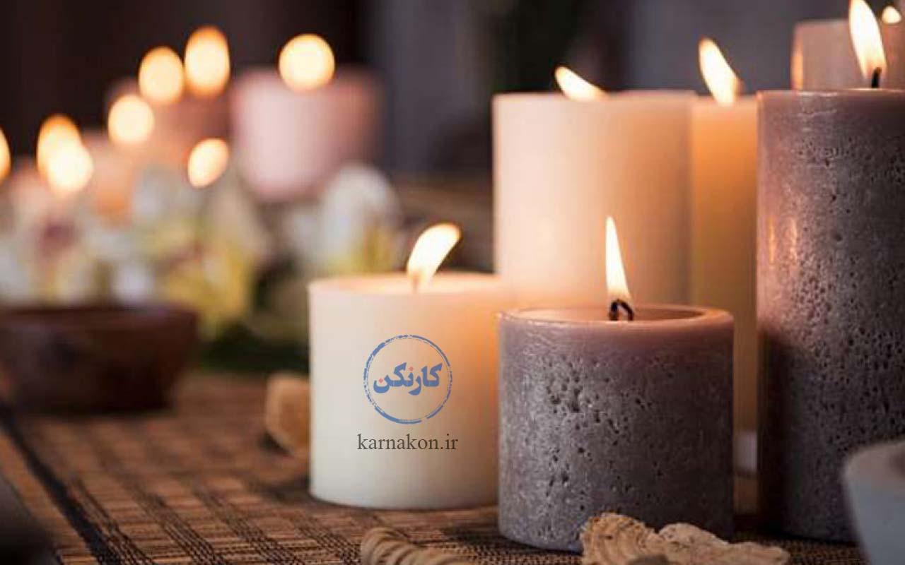 تولید شمع یکی از پرسودترین کارهای تولیدی در منزل