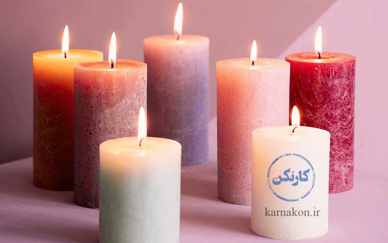 تولید شمع، بهترین کار تولیدی در خانه