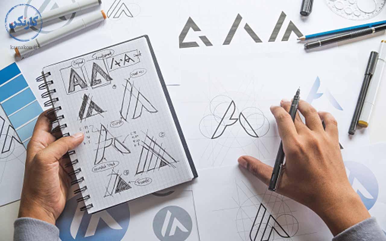 طراحی لوگو - شغل های پردرآمد برای جوانان