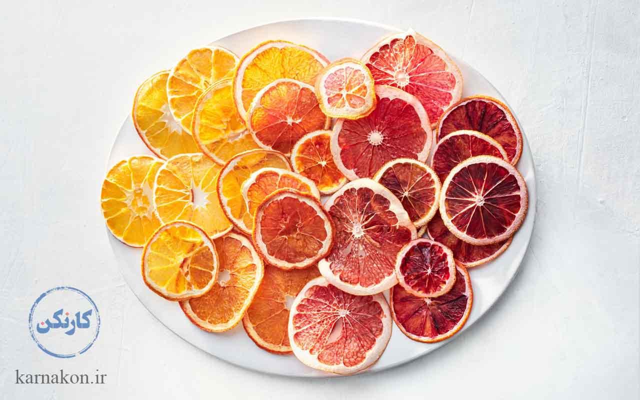 میوه خشک کنی یک کار تولیدی در خانه عالی