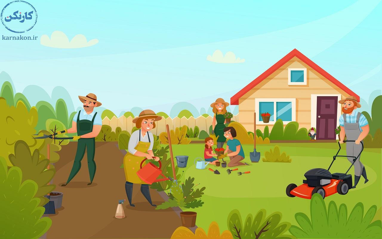 مشاغل تابستانی مناسب برای یک دانش آموز پسر - باغبانی