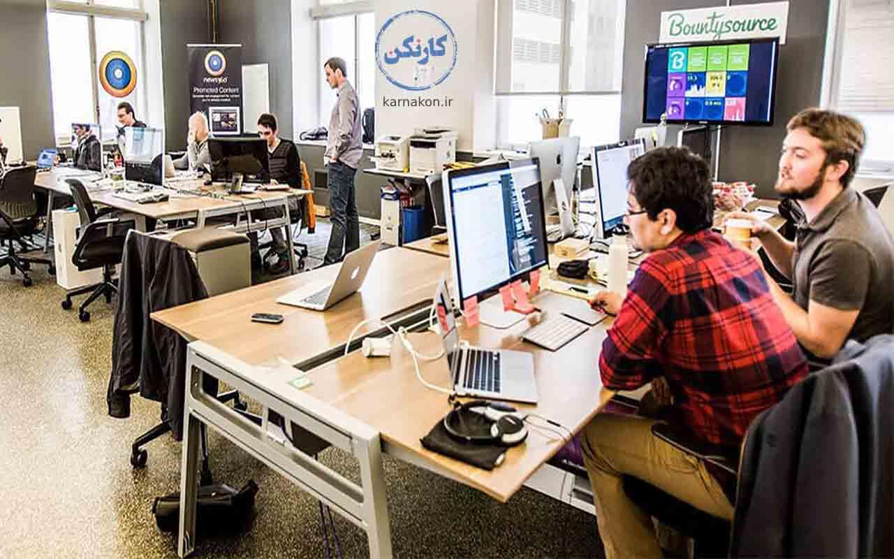 کارآفرینی با برنامه نویسی - استخدام در استارت آپ ها