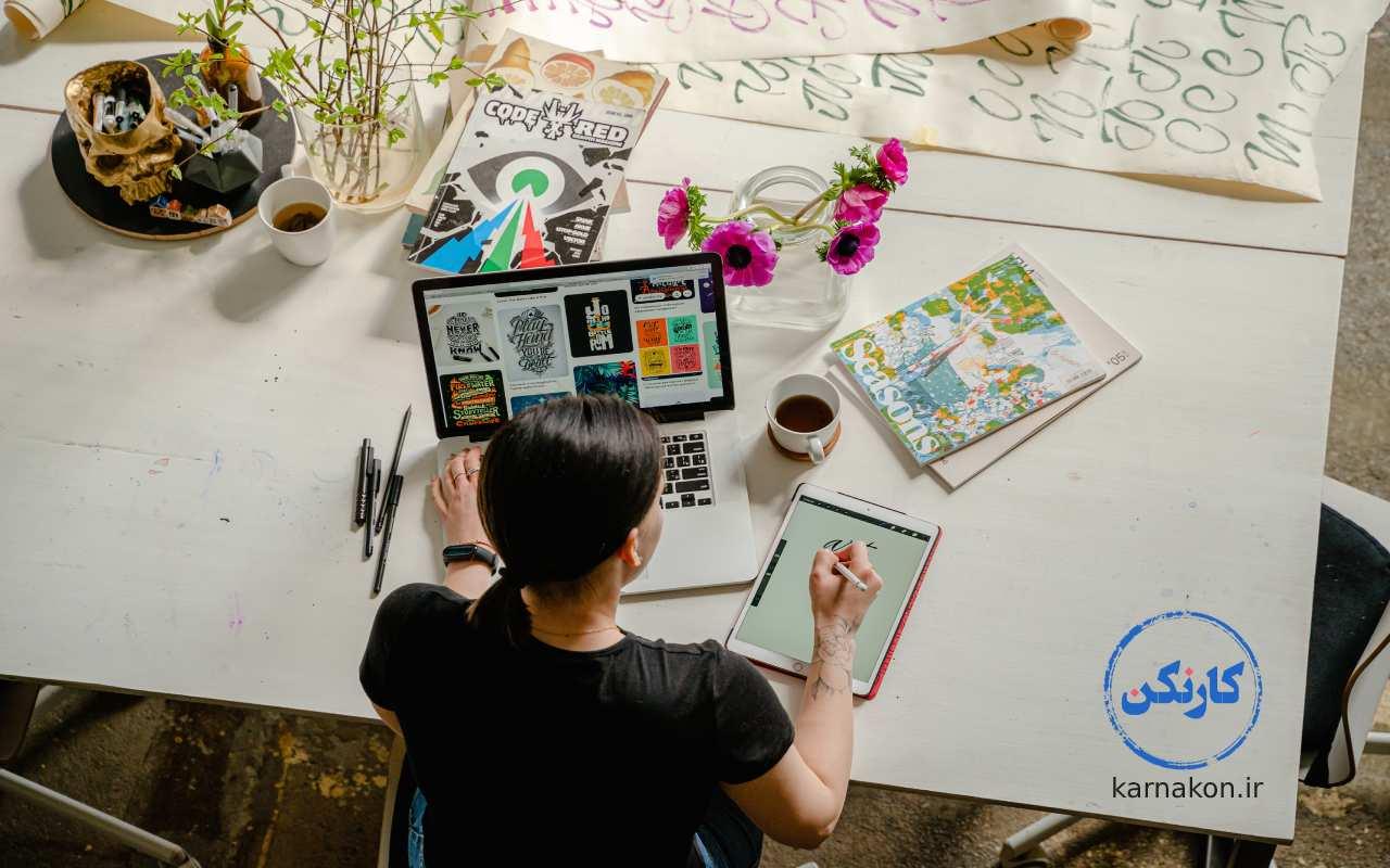 طراحی گرافیک و تدوین فیلم کسب و کار اینترنتی مطمئن است.