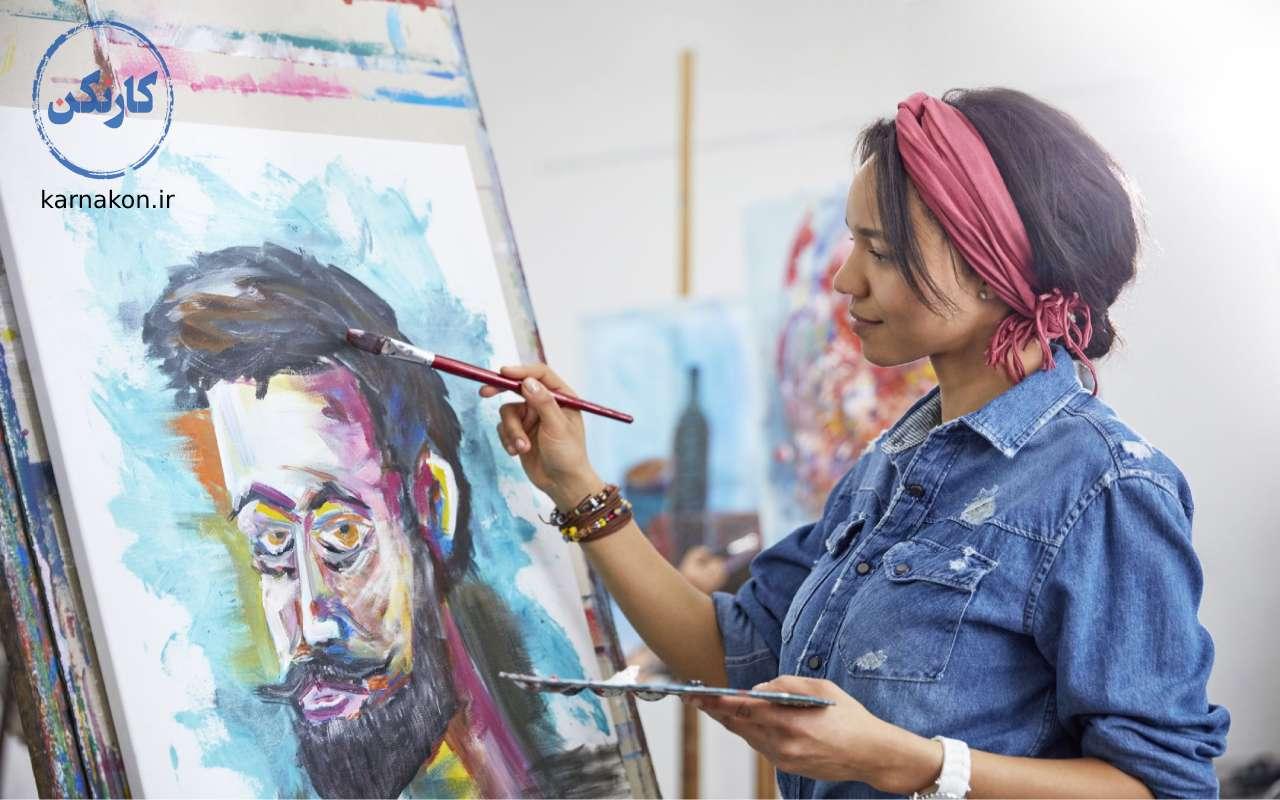 هنرگرا - تست تشخیص علاقه شغلی