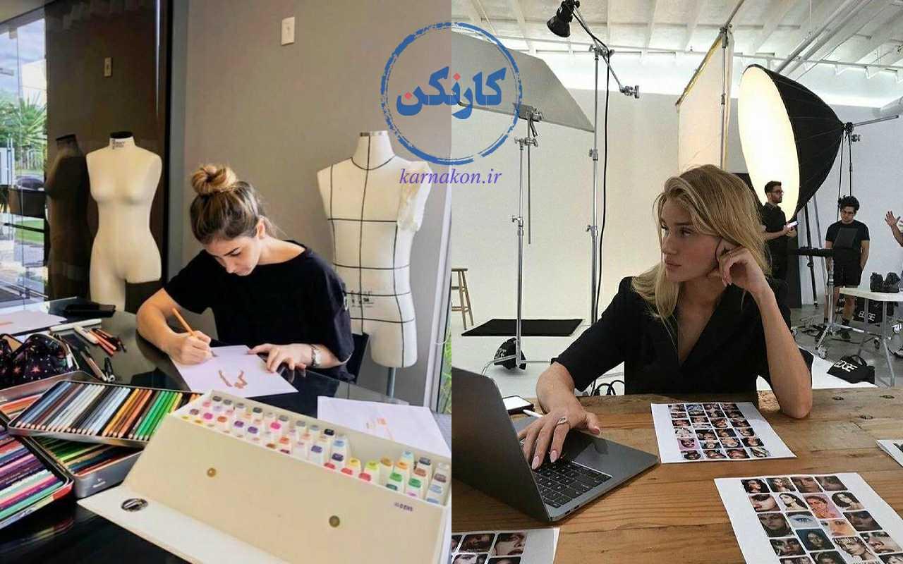 کسب درآمد از طریق طراحی لباس - آیا شخصیت شما با نوع شغل طراحی لباس سازگاری دارد؟