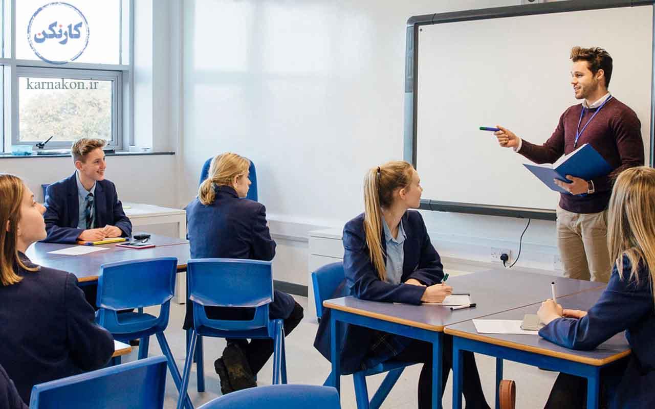 تدریس به عنوان یکی از شغل های دوم برای معلمان