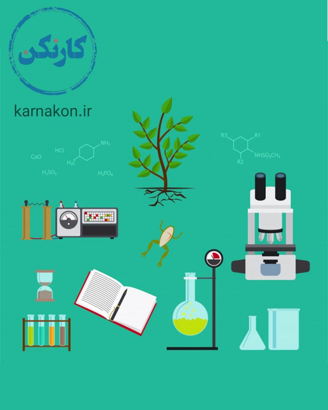 شغل های رشته علوم تجربی چیست - گیاه شناسی