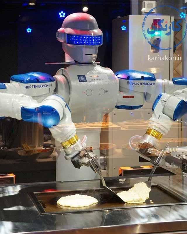 شغلهایی که در آینده حذف می شوند مثل آشپزهای رستورانهای فستفودی