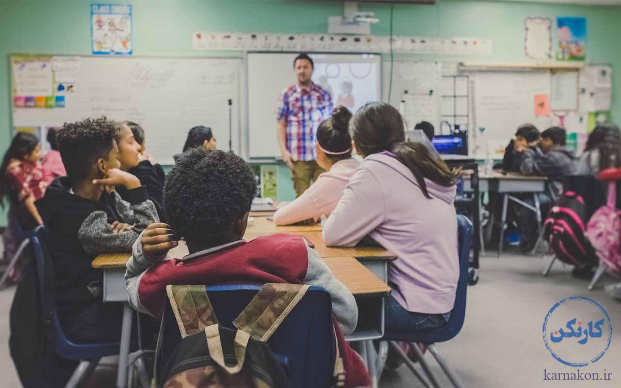 شغل های دوم برای معلمان در کلاس خصوصی