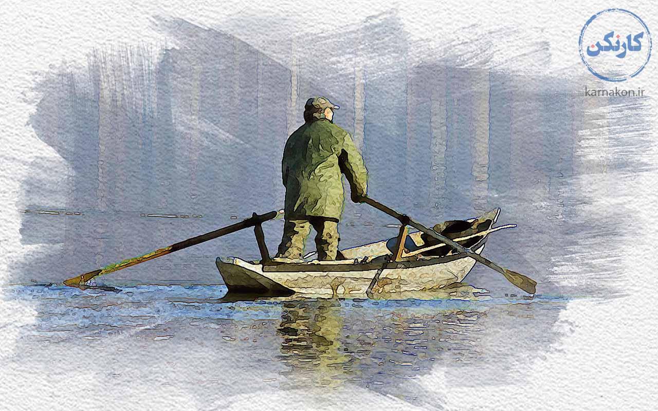 ماهیگیری اولین دسته از شغل هایی که در آینده از بین میروند است.