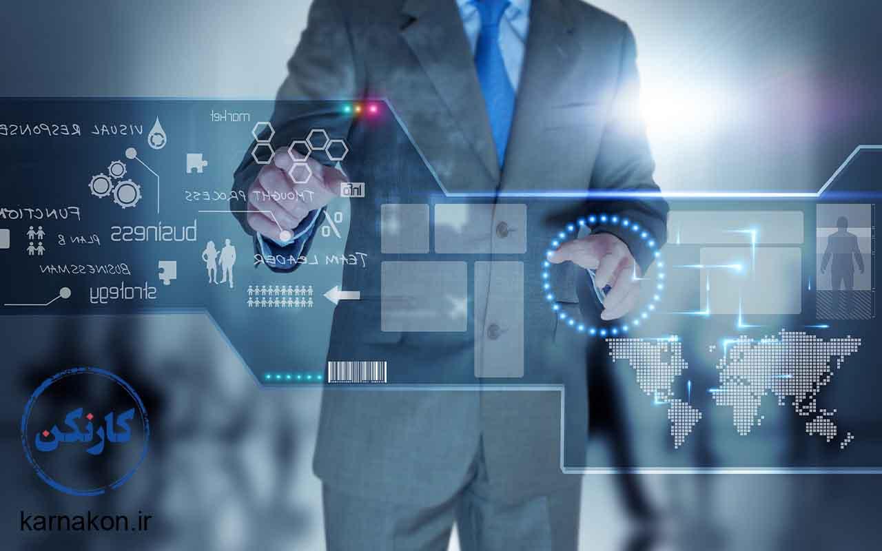 مدیریت فناوری اطلاعات از شغل های رشته ی ریاضی فیزیک