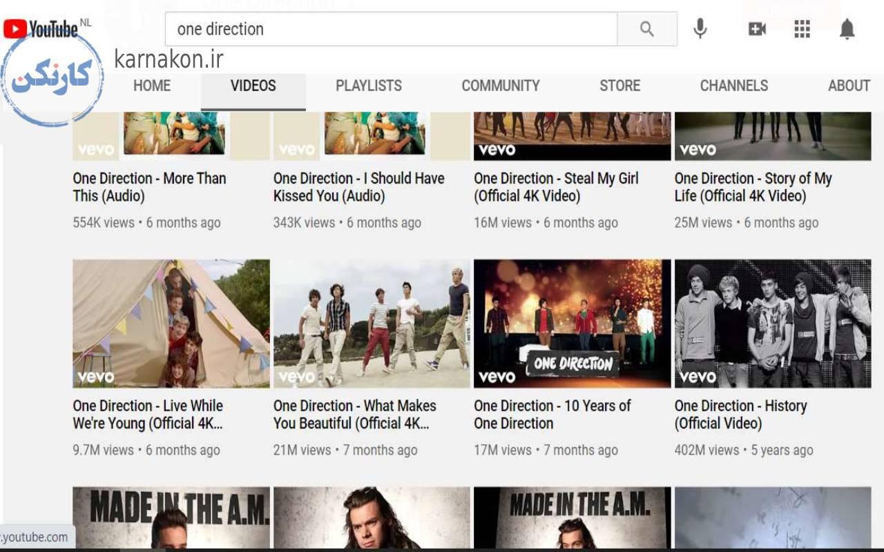 یادگیری زبان انگلیسی با یوتیوب