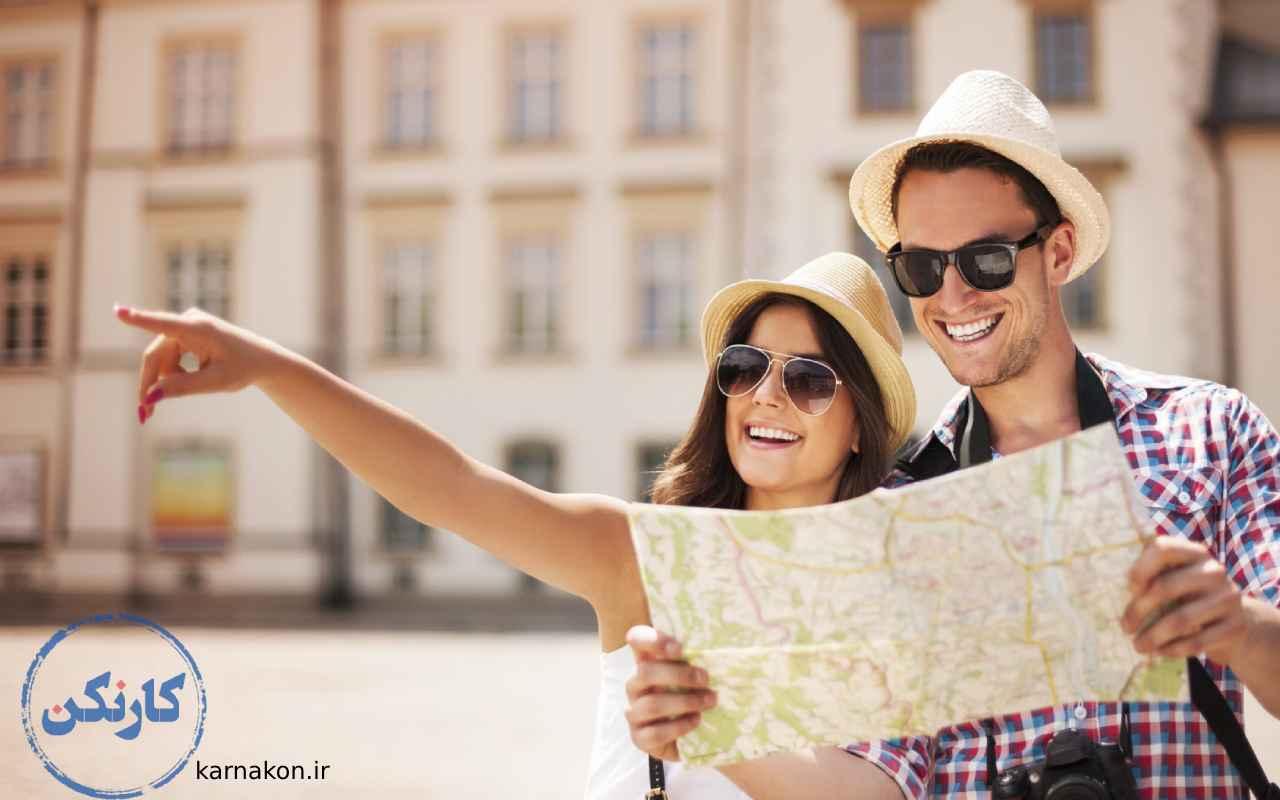 گردشگری ، شغل های پر درامد رشته انسانی