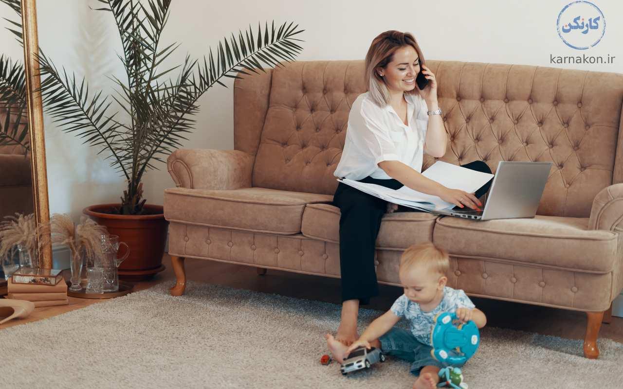 اگهی های انواع کار در منزل را از کجا پیدا کنیم؟