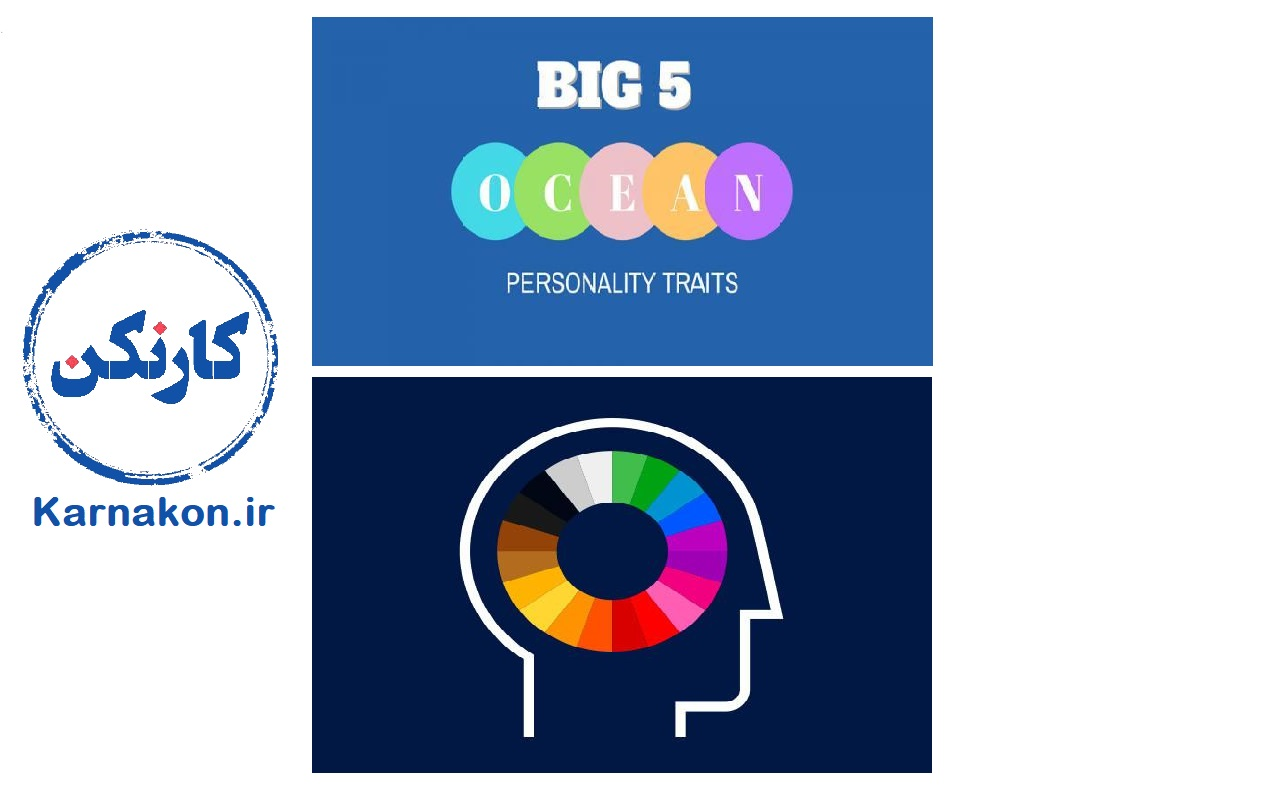 مدل پنج عاملی شخصیت - امتیازات