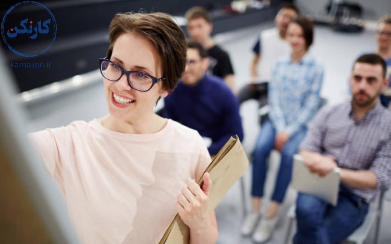 شغل مناسب افراد احساساتی معلم