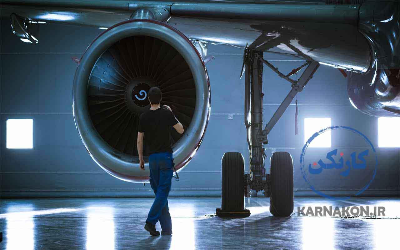 انواع مهندسی های رشته ی ریاضی - مهندسی هوافضا