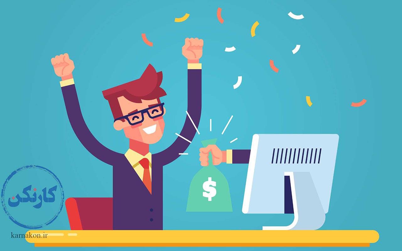 دریافت درآمد فریلنسر چیست اگر از طریق دورکار معادل فارسی فریلنسر کار کنید، از طریق اینترنت و در خانه از کارفرما حقوق میگیرید