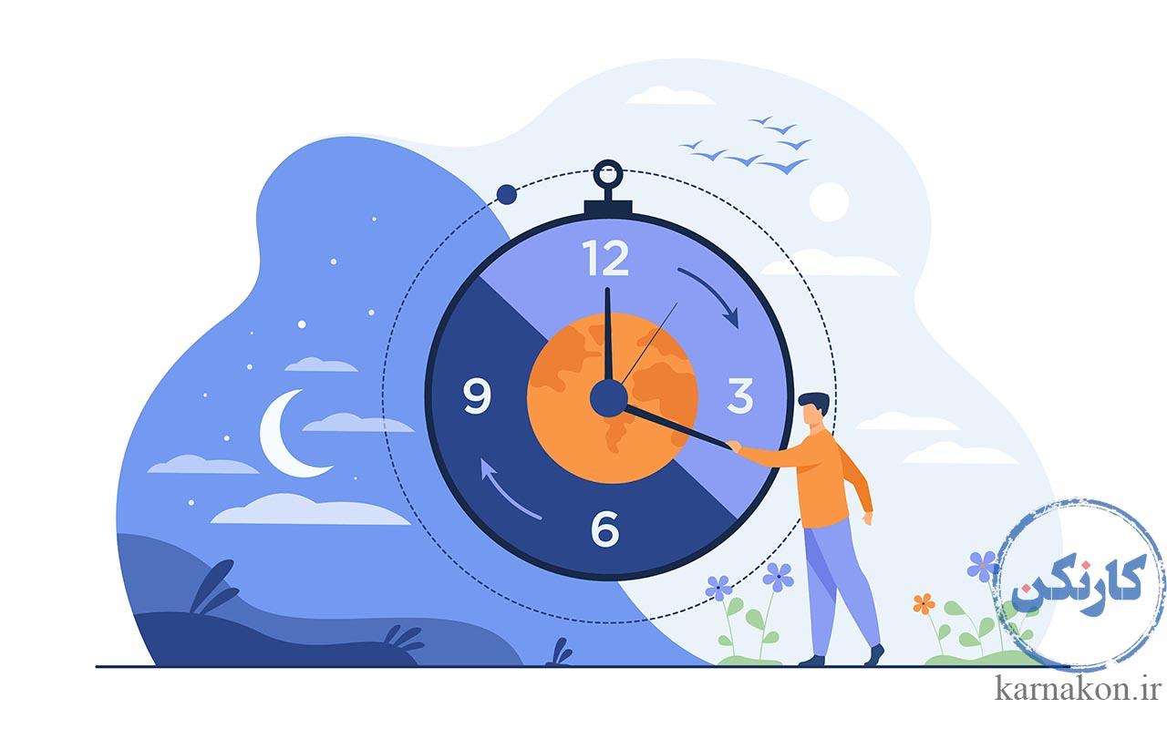 معنی کلمه فریلنسری - یک فریلنسر ساعت کاری منعطفی دارد