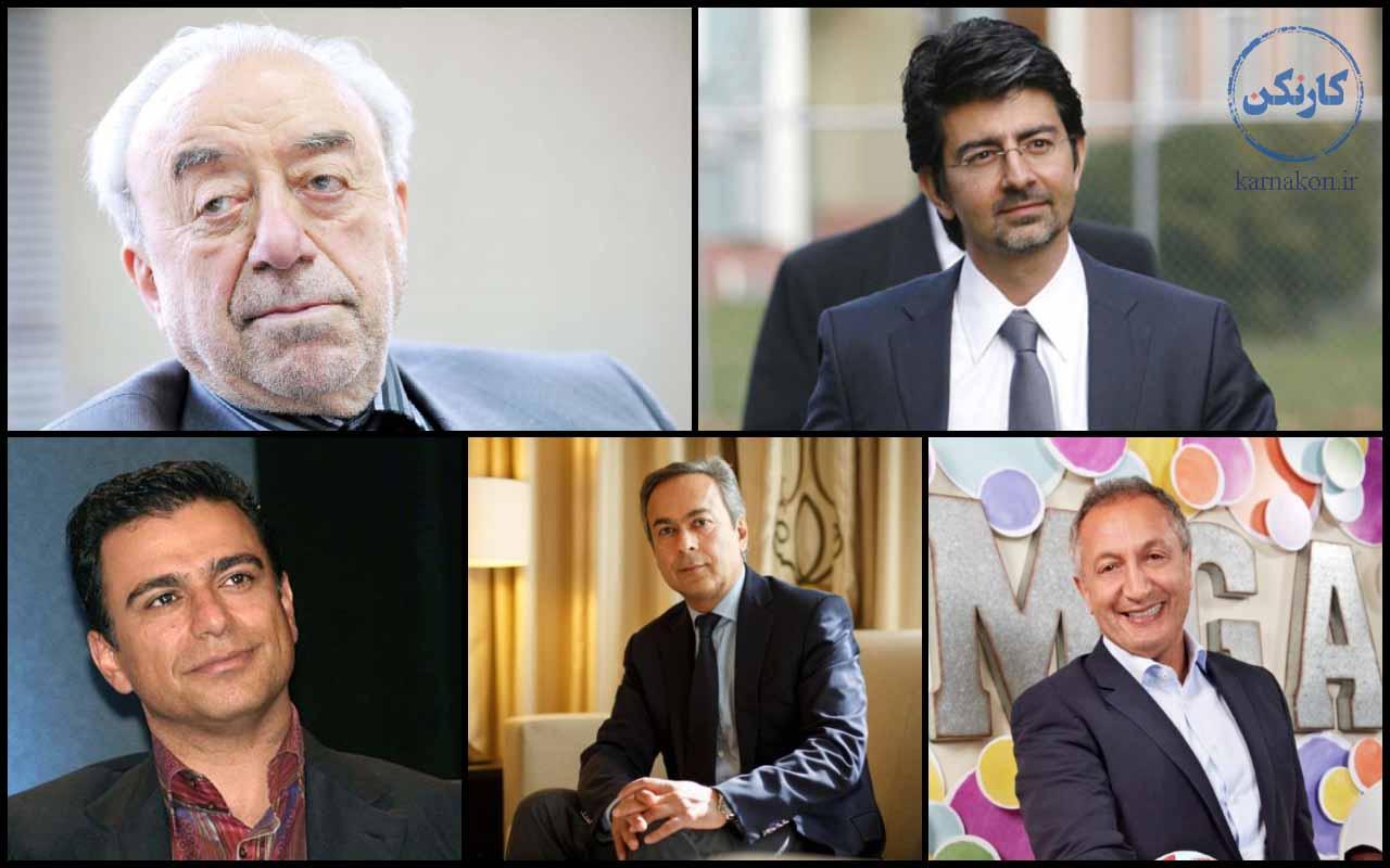 تحصیلات ثروتمندان ایران