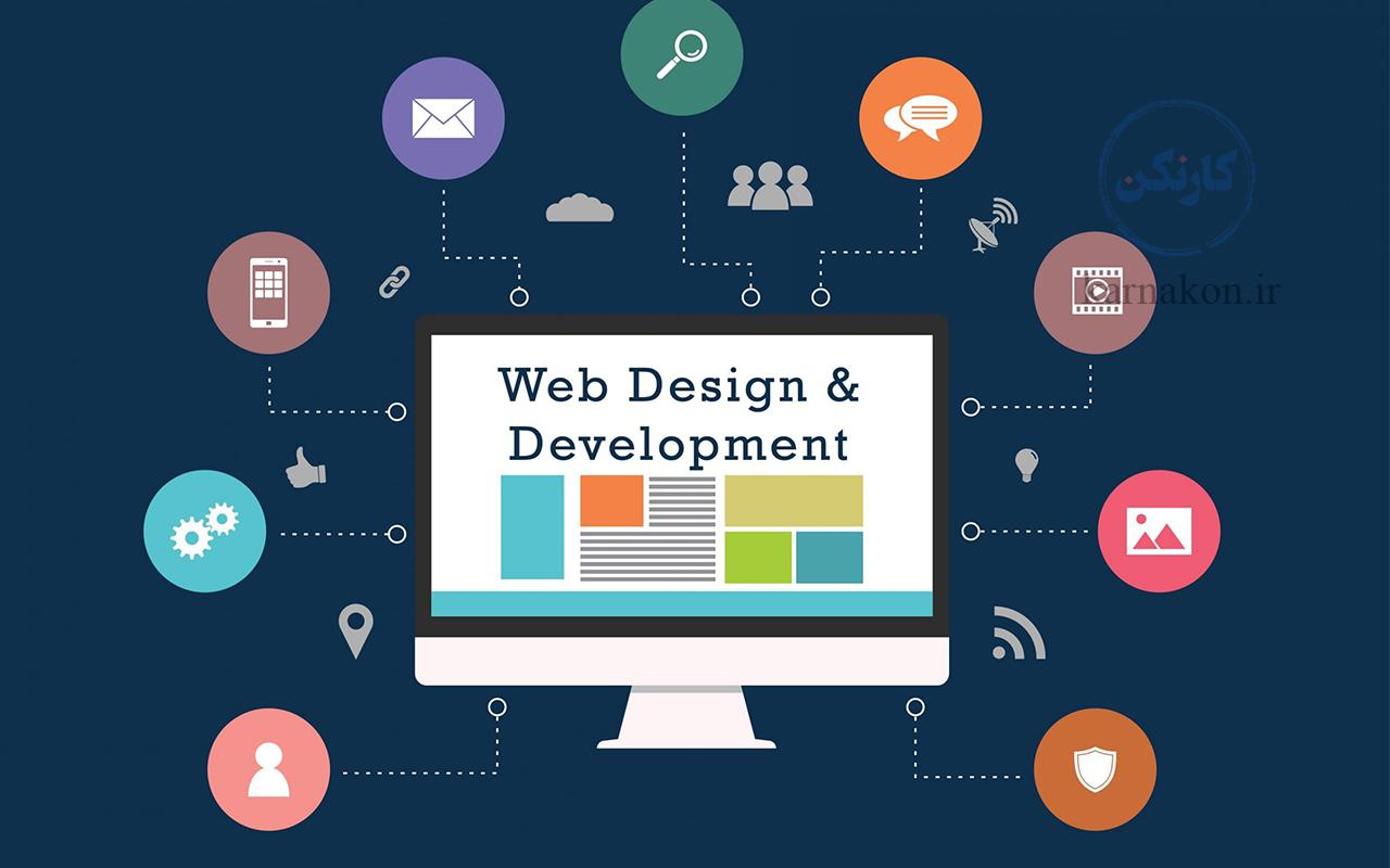 از شغل برای دانش اموزان،طراحی سایت و تولید محتوا اشت.