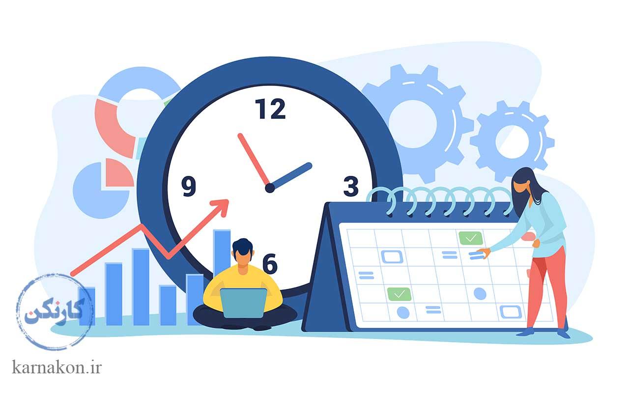 اصول فریلنسینگ با مدیریت زمان