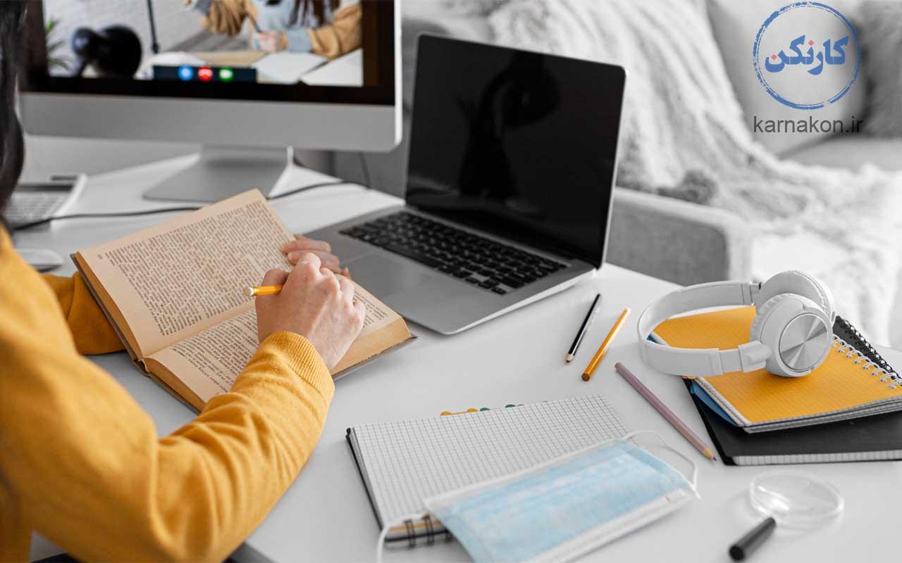 تمرین speaking به صورت از راه دور و استفاده از فضای مجازی برای بودن در دنیای واقعی و شبیه سازی آن تقویت اسپیکینگ همراه با تکنولوژی و اینترنت
