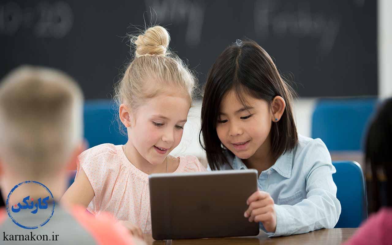 کسب و کار اینترنتی برای کودکان